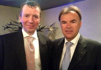 Feike Gerbrandy  e Carlo Orione